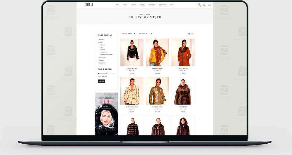 b16c680fc3 Diseño de Tiendas Online a Medida. Comienza a vender por Internet ...